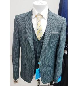 Мужской костюм тройка DL-003 900eb20f4a6