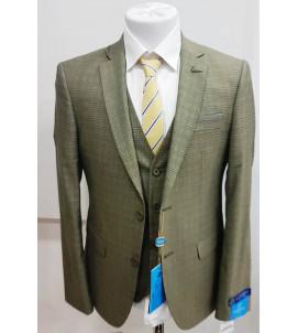 Мужской костюм тройка DL-004