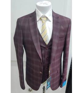Мужской костюм тройка DL-003