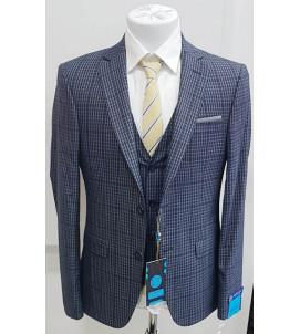 Мужской костюм тройка DL-007