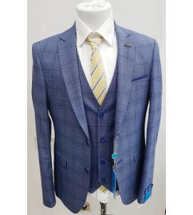 Мужской костюм тройка DL-005